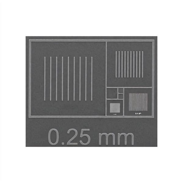 CDMS-0,1C Vergrößerungsstandard, 2 mm - 100 nm (montiert & unmontiert), nach NIST zertifiziert