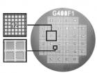 Finder-Netzchen F1, 32 x 36 Felder, markiert, Cu, geriffelte Stege, 400 mesh, 100 Stück