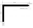 PLANOTEC Marker, Markierwinkel aus Kupfer, 20 Stück