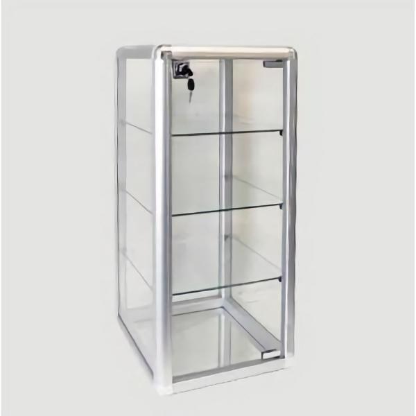 Aufbewahrungsschrank (Glas/Aluminium)