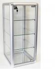 Aufbewahrungsschrank (Glas/Aluminium) 31cm x 36cm x 66cm
