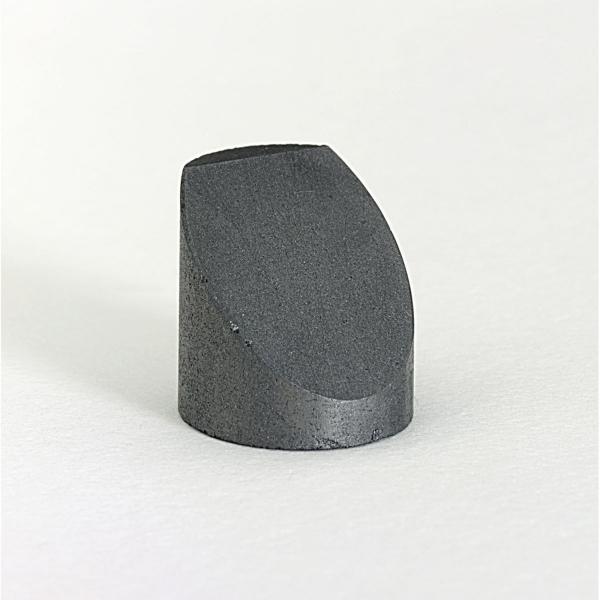 Graphit-Probenteller für JEOL (Zylinder) mit 45° Schräge