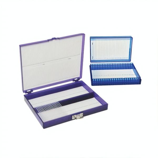Kryo-kompatible Aufbewahrungsbox für Objektträger