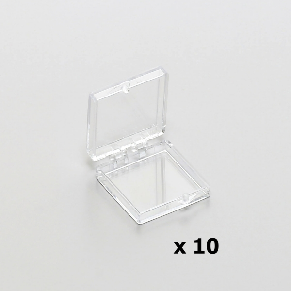 Polystyrol-Schachtel, transparent (PLANO-Multipack)