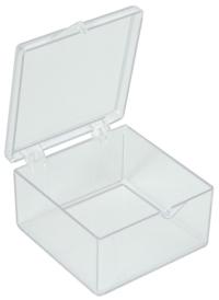 Polystyrol-Schachtel (50,8mm x 50,8mm, Unterteil: 25,4mm)