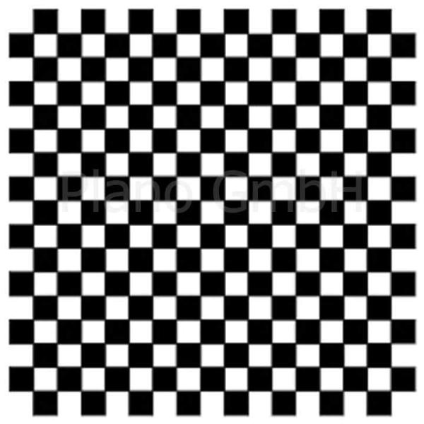 Strichplatte (mit Schachbrettmuster)