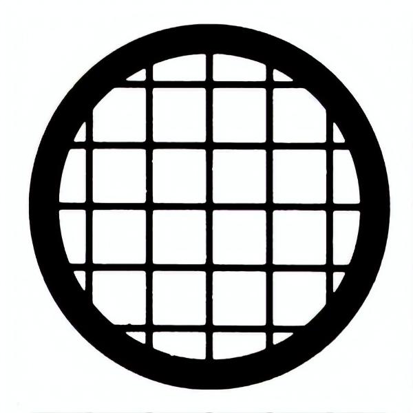 Netzchen (quadratisches Muster) ohne Mittelmarkierung