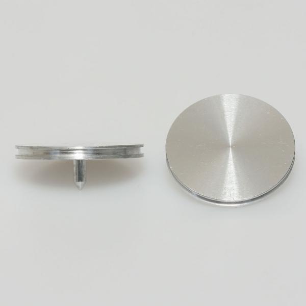 Stiftprobenteller aus Aluminium