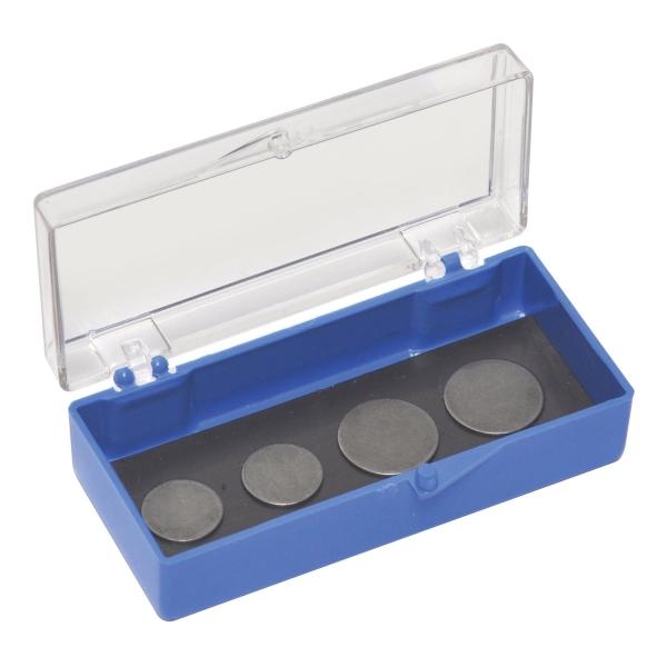 Aufbewahrungsschachtel für AFM-Scheiben mit Magneteinlage